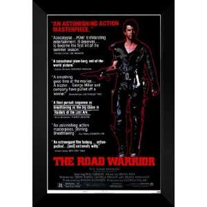 Mad Max 2: The Road Warrior 27x40 FRAMED Movie Poster: Home & Kitchen