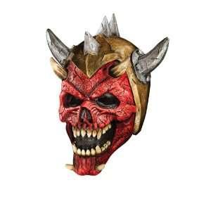 Foam Latex Helmet Mask, Horned Demon Warrior Toys & Games