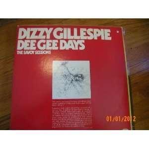 Dizzy Gillespie Dee Gee Days (Vinyl Record) Dizzy