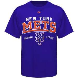 York Mets Royal Blue Built Legacy T shirt (Small)