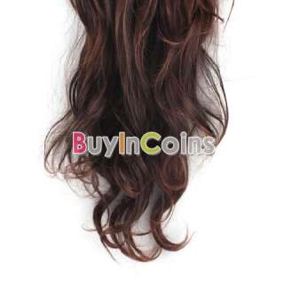 Beautiful Sexy Stylish Long Full Women Curly Wavy Hair Wigs