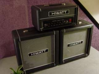 HIWATT ELECTRIC GUITAR AMPLIFIER 20 WATTS BABY STACK IN BLACK BRITISH