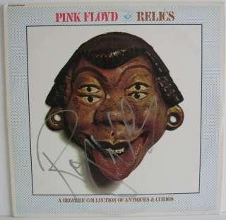 ROGER WATERS Pink Floyd Signed Relics Album LP PSA/DNA