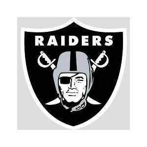 Oakland Raiders Logo, Oakland Raiders   FatHead Life Size
