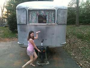 1948 Spartan Manor Vintage Travel Trailer 25 like Airstream Avion