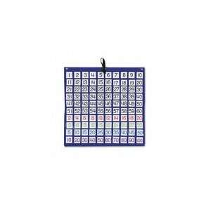 Hundreds Pocket Chart with 100 Number Cards, 24x24: Office