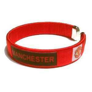 United FC Team Logo English Soccer Bracelet Wristband
