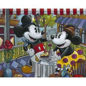 Cafe Mickey   Disney Fine Art Giclee by Amy Lynn: Home & Kitchen