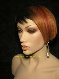 Realistic Mannequin Head Bust African American Mannequin Head $100 OFF