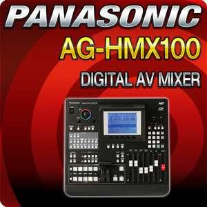 Panasonic AG HMX100 Multi Format HD/SD Digital A/V Mixer