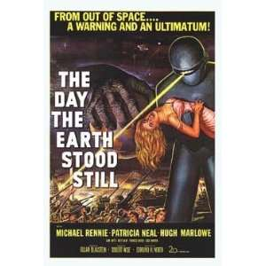 THE DAY THE EARTH STOOD STILL   VINTAGE MOVIE POSTER(Size