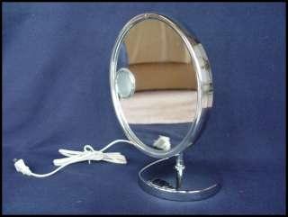 Jerdon Insert Lighted Vanity MakeUp Mirror Model JD10
