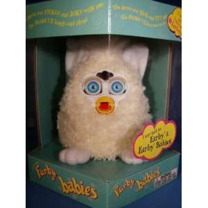 FURBY BABIES CREAM, WHITE FEET AND INNER EARS, CREAM HAIR