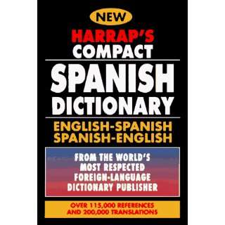 Harraps Compact Spanish Dictionary: English Spanish Spanish English