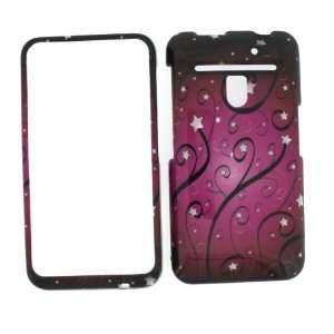 Premium   LG Revolution VS910 Verizon Pink Swirls Cover