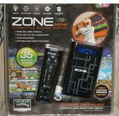 ZONE Mini Interactive Gaming System with 35 Games 044902047596