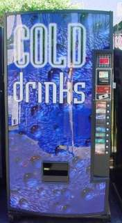 Royal Vendors GIII Soda Vending Machine   Sells bottles and cans