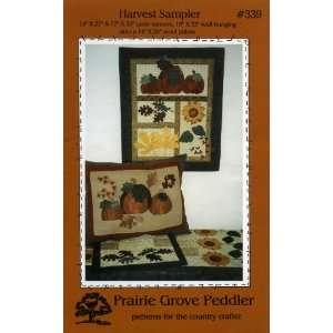 Sampler (Appliqué Quilt Pattern) (Prairie Grove Peddler patterns