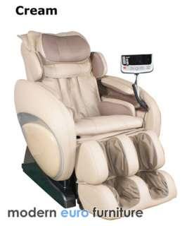 Zero Gravity MASSAGE CHAIR Heat Therapy Auto Recliner Osaki OS 4000