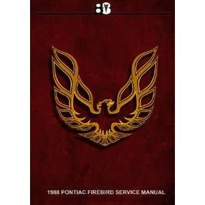 1988 PONTIAC FIREBIRD SERVICE MANUAL ON CD Automotive