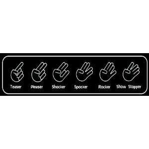 : THE SHOCKER COLLECTION (Finger Bang Hand Gestures): Everything Else