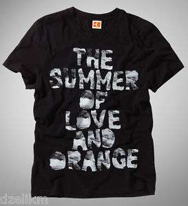 Hugo Boss Orange Crew Neck Graphic T shirt Tee L & XXL