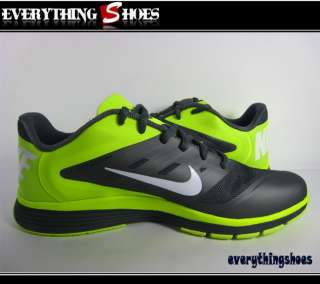 Nike Lunar Vapor Trainer Dark Grey White Volt Men Training Shoes