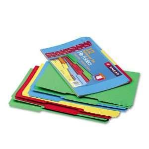 Smead Products   Smead   File Folders, 1/3 Cut, Reinforced