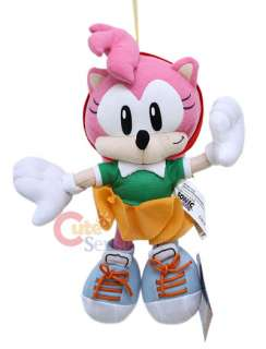 Sega Sonic Hedgehog Amy Rose 10 Plush Doll :Original