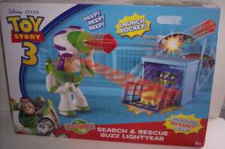 TOY STORY 3 BUZZ LIGHTYEAR SEARCH & RESCUE SET PLAYSET