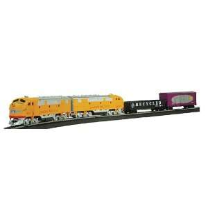 Union Pacific Double Diesel: 2 Powered Locomotives Train Set: Toys