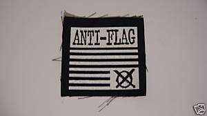 Anti Flag   Upside Down Flag, sew on patch