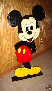 Mickey Mouse stand up party decorations supplies