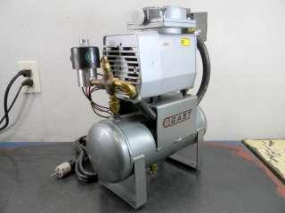 GAST AIR COMPRESSOR DOA P108 DB TANK UNIT 1 PH 115 V
