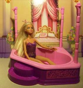 NEW HOT TUB FOR BARBIE DOLL HOUSE PINK 3 STORY DREAM TOWNHOUSE