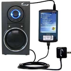 Audio Speaker with Dual charger also charges the Toshiba e805