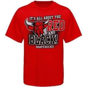Nebraska Omaha Mavericks Red All About Red & Black T shirt