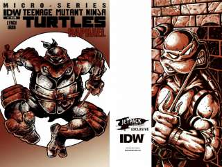 RAPHAEL #1 idw micro series Teenage Mutant Ninja Turtles TMNT Jetpack
