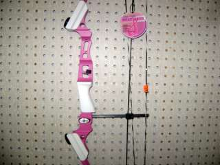 MATHEWS GENESIS MINI YOUTH BOW LH PINK LEMONADE NEW