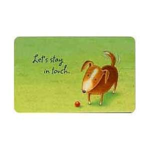 Collectible Phone Card #600TEL 101 4 Sad Pup (Puppy Dog
