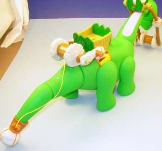 Little Tikes Green Roaring Dinosaur Crane Flinstones