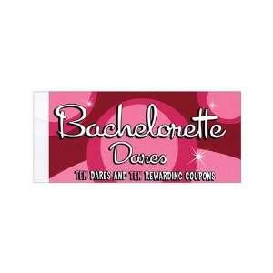 Coupons, bachelorette dare book