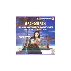Back2Back: Ilocano Vol. 2   Philippine Tagalog Music CD