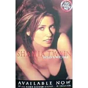 Shania Twain Country Music Poster 20x30 Home & Kitchen