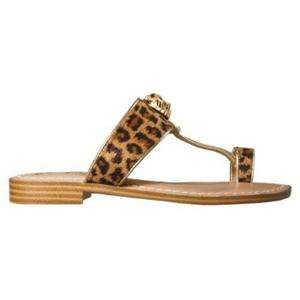 Miss Trish Target Girls Leopard Toe Thong Sandal
