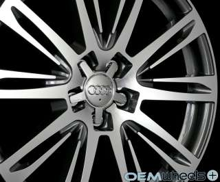 GUNMETAL MACHINED A7 STYLE WHEELS FITS AUDI Q5 QUATTRO VW TIGUAN RIMS