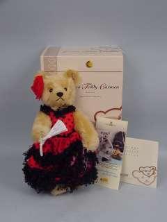 Carmen Teddy Bear by Steiff MIB   2005 Ltd Ed. France