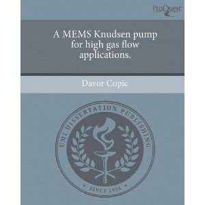 A MEMS Knudsen pump for high gas flow applications