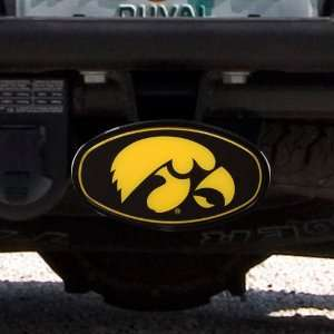 Iowa Trailer Hitch Cover with Integrated Hitch Pin (Black