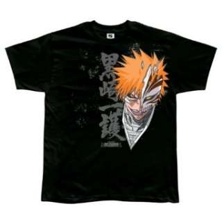 Bleach Ichigo Hollow Form Black T Shirt Clothing